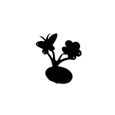 Pr sentoir boucles d 39 oreilles noir 3420n - Presentoir boucles d oreilles ...
