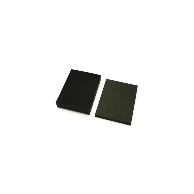12 écrins pour bijoux parures noir  - 10038