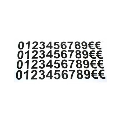 480 caractères autocollants - 517