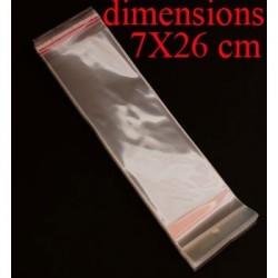 100 sachets transparents - 1081