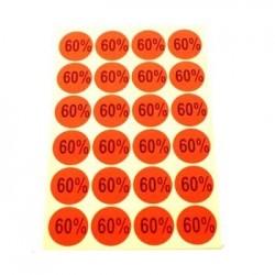 gommettes autocollantes 60% - 1863of