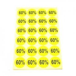 gommettes autocollantes 60% - 1863j
