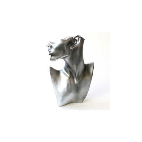 Buste femme tronqué gris - 2913