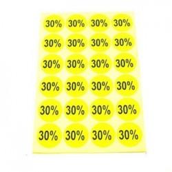 gommettes autocollantes 30% - 1866j