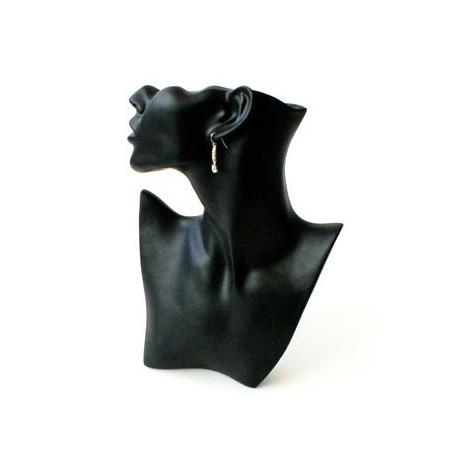 Buste femme tronqué noir - 2914