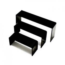 3 tables gigognes noire - 4739
