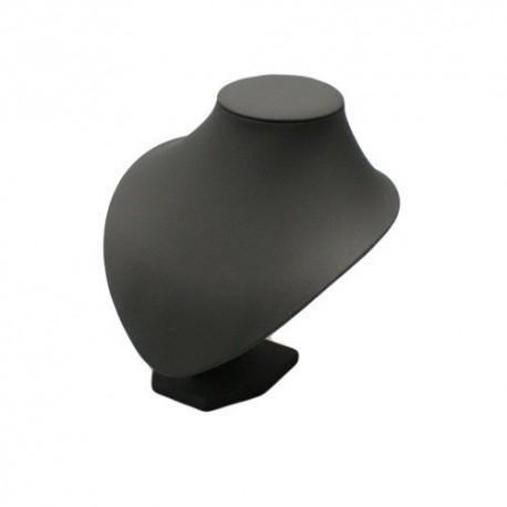 Buste simili cuir noir - 0034