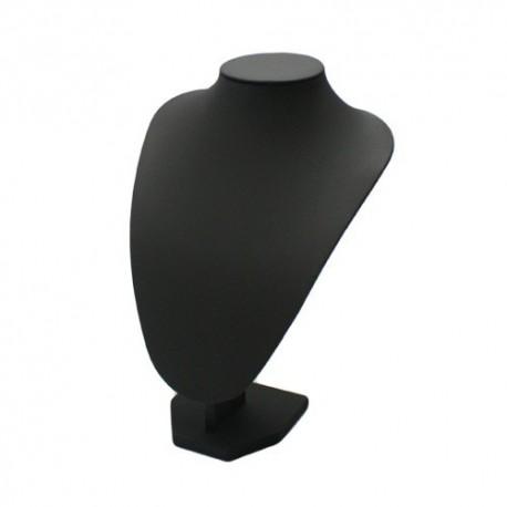 10 bustes simili cuir noir - 999x10