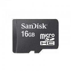 MicroSDHC 16GB Sandisk CL4 sans adaptateur - 4846