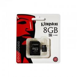 MicroSDHC 8GB Kingston - 4848