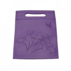 20 Sacs Fantaisies tissu violet -5005