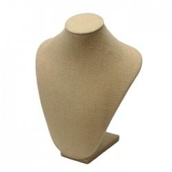 Buste en tissu sable - 5025