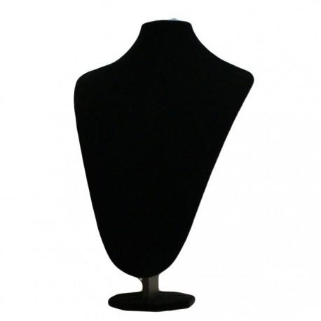 Buste en velours noir - 5031