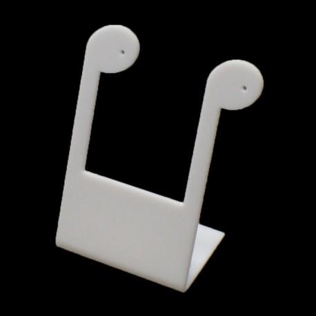 Présentoir boucles d oreilles blanc - 3100