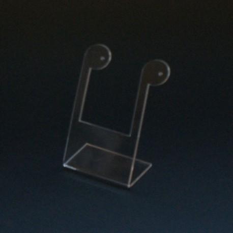Présentoir boucles d oreilles transparent - 3431