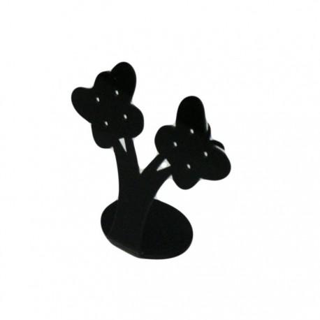 Présentoir à boucles d'oreilles noir - 5084