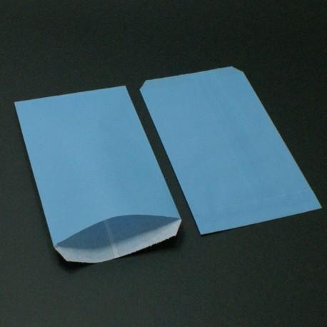250 sachets cadeaux kraft bleu ciel - 8015