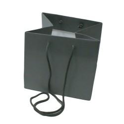 Lot de 5 sacs en papier kraft gris souris pour bijoux et accessoires - 5155