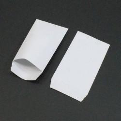 100 pochettes en papier uni de couleur rouge - 5351