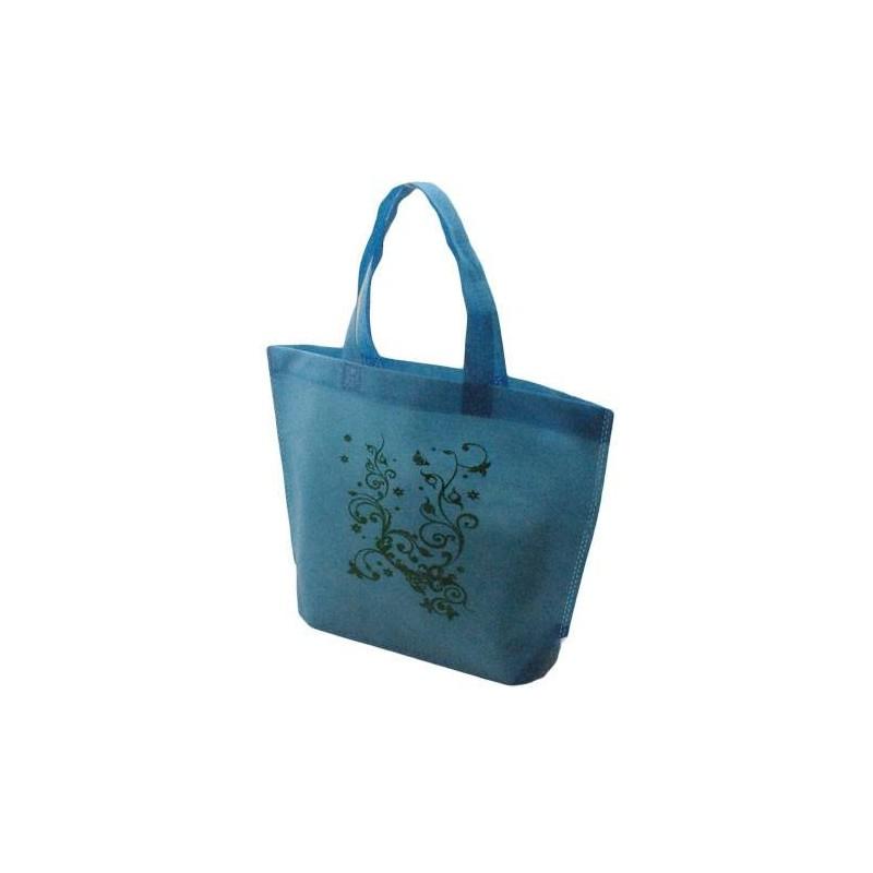10 couleur Loading sacs à bleu réutilisables zoom 5481 32x10x36cm turquoise cabas intissés motifs HIIqr4Pw