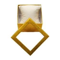6 écrins pour montres et bracelets dorés - 5485