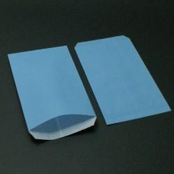 250 sachets cadeaux kraft couleur bleu ciel - 5500