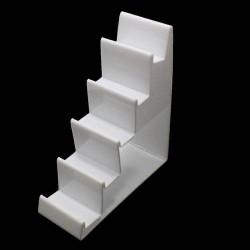 Présentoir porte-monnaie en acrylique blanc - 5640