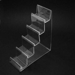 Présentoir porte-monnaie en acrylique transparent - 5641