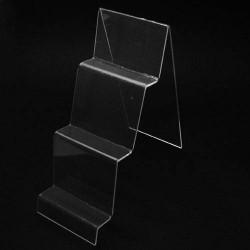 Présentoir pour porte-feuille en acrylique transparent - 5644