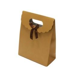 12 boîtes cadeaux couleur doré mat 27x19x9cm - 5700