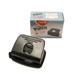 Perforateur en métal noir 2 trous - 20 feuilles - 5710