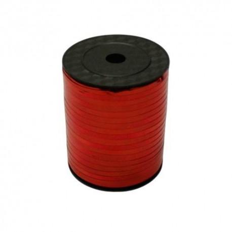Rouleau de bolduc couleur rouge brillant - 5723