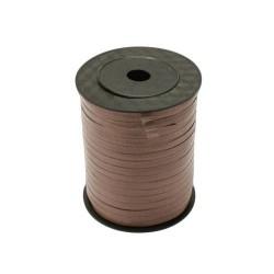 Rouleau de bolduc couleur marron - 5726