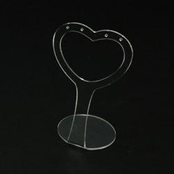 Présentoir boucles d oreilles transparent - 3423t