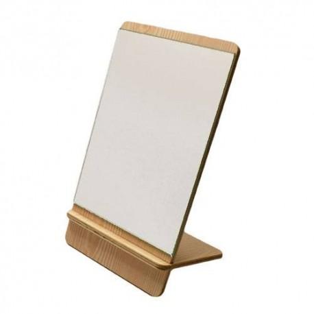 Miroir aspect bois clair - 5938