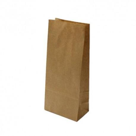 25 sacs SOS kraft brun 14x8x24cm - 5996