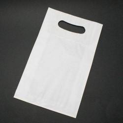Lot de 25 poches kraft blanc avec poignées 31x7x47cm - 6005