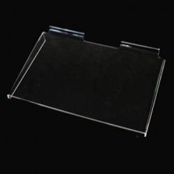 Tablette en plexiglass pour panneau rainuré - 2779