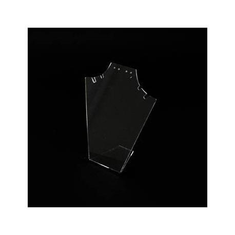 Présentoir bijoux en acrylique transparent pour parures - 3584