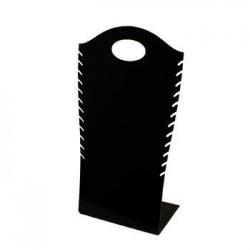 Présentoir de couleur noir pour colliers - 6059