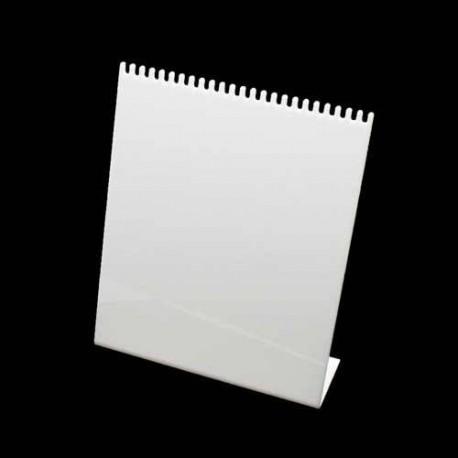 Présentoir acrylique blanc pour bracelets - 4734