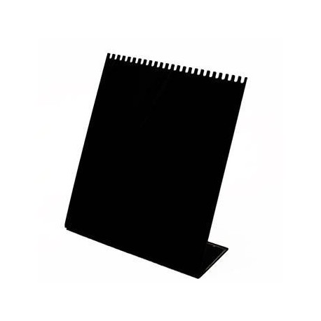 Présentoir acrylique noir pour chaînes - 4733