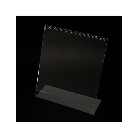 Présentoir acrylique transparent pour chaînes - 3538