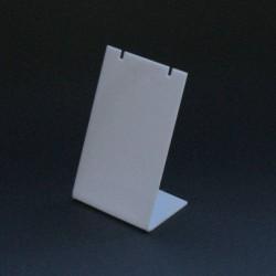 Mini buste pour parure en acrylique blanc - 3422b