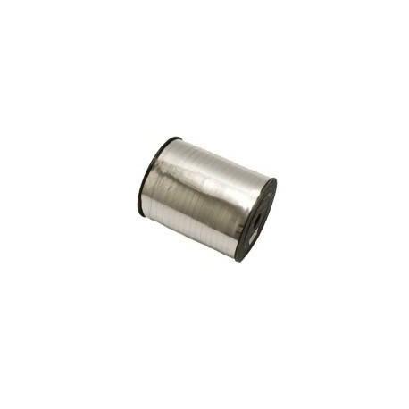 Rouleau de bolduc de couleur argenté 500m - 4749