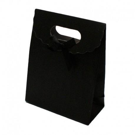 Lot de 12 boîtes cadeaux couleur noir 31.5x24x12cm - 6068