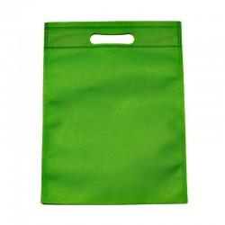 12 sacs non-tissés couleur vert uni - 6120