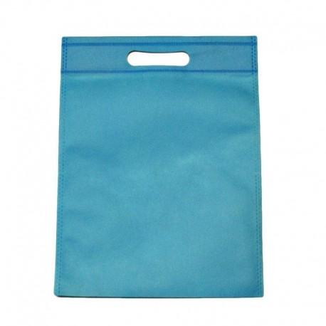 12 sacs non-tissés bleu ciel uni - 6124
