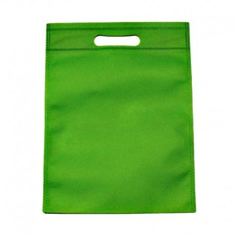 12 sacs non-tissés vert uni - 6126