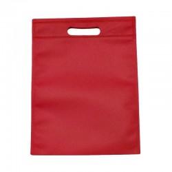 Lot de 12 sacs intissés de couleur rose foncé - 6131